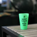 Silipint® 16 oz Silicone Pint Glass – Glow-in-the-Dark Green