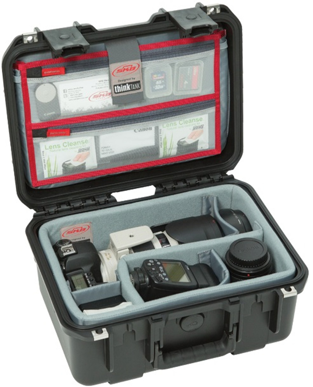 SKB iSeries 1309-6 Case with Think Tank Designed Photo Dividers and Lid Organizer