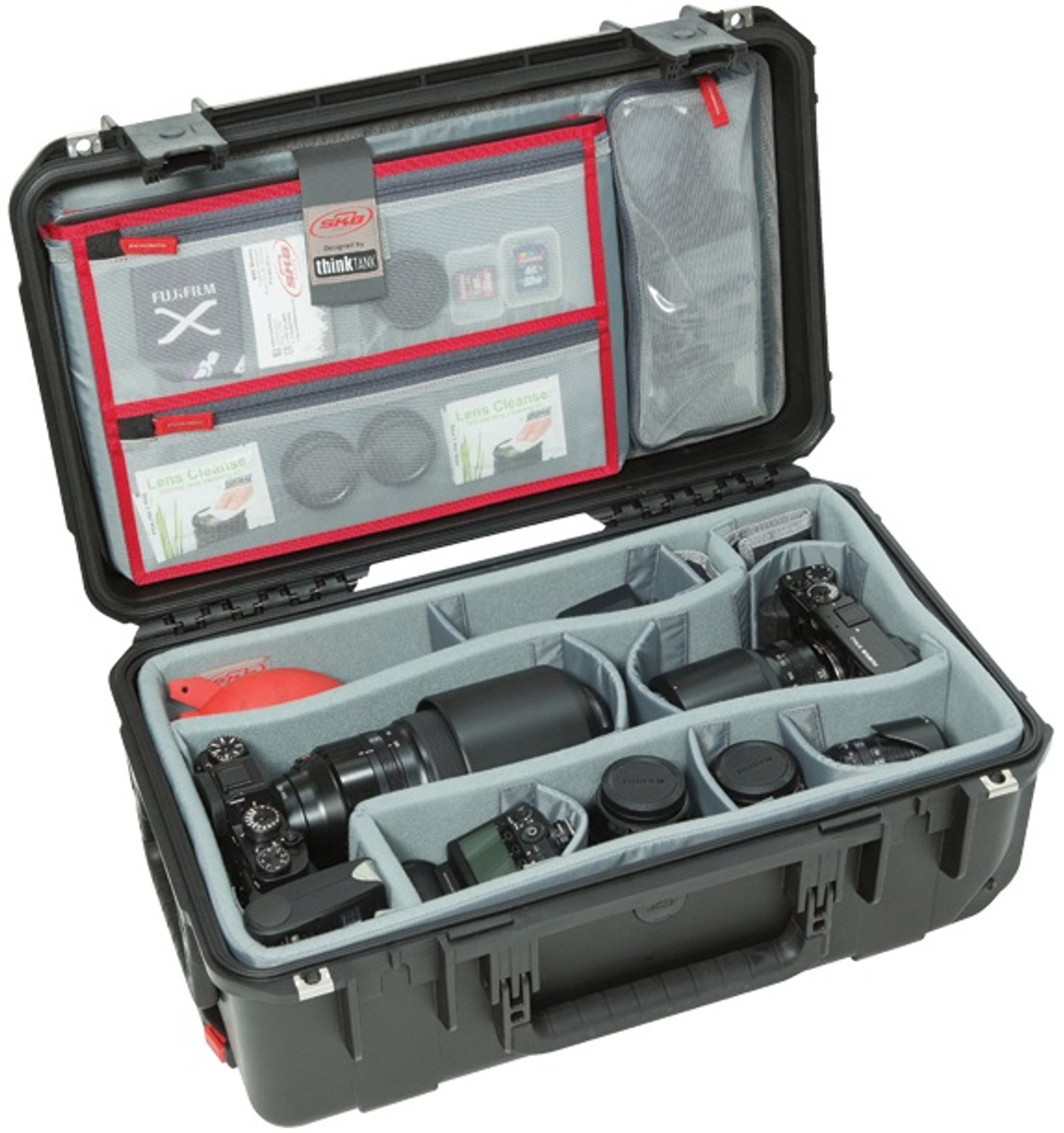 SKB iSeries 2011-7 Case with Think Tank Designed Photo Dividers and Lid Organizer