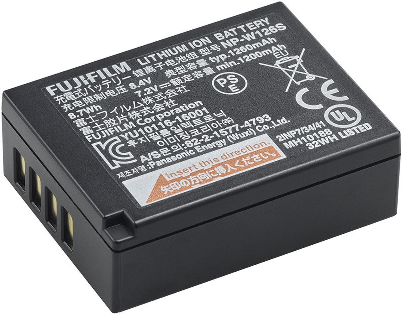Fujifilm NP-W126S Lithium-Ion Battery