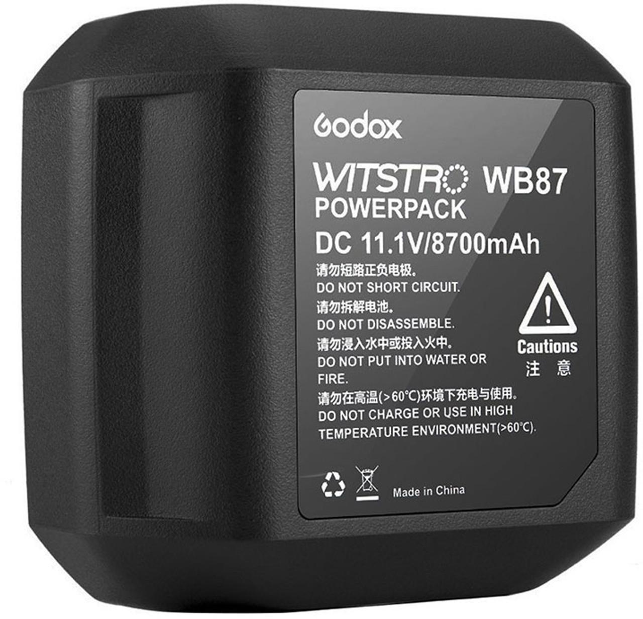 Godox WB87 Battery Pack for AD600BM