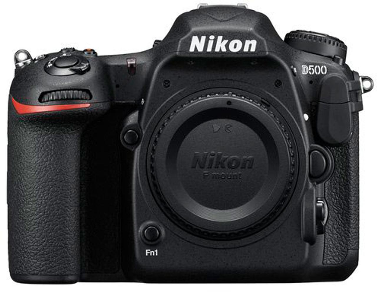 Nikon D500 DSLR Camera - Body Only - Black