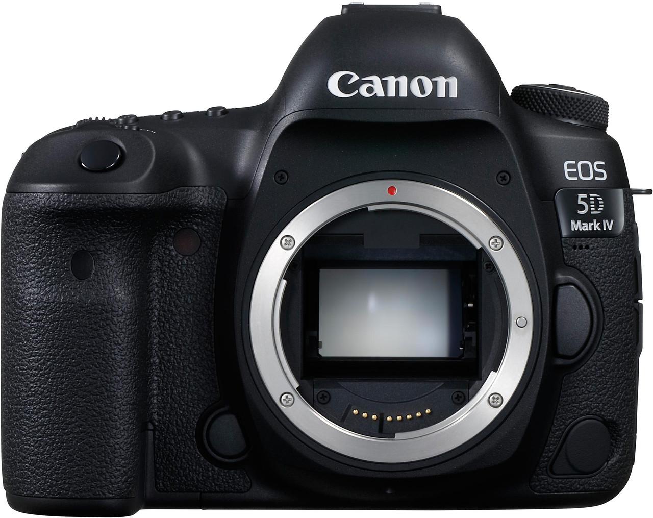 Canon EOS 5D Mark IV - Body Only - Black