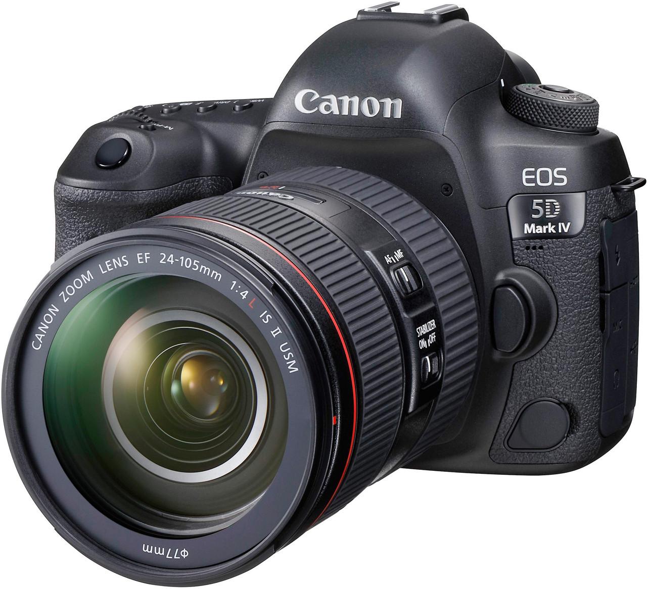 Canon EOS 5D Mark IV with EF 24-105mm F4L IS II USM Lens