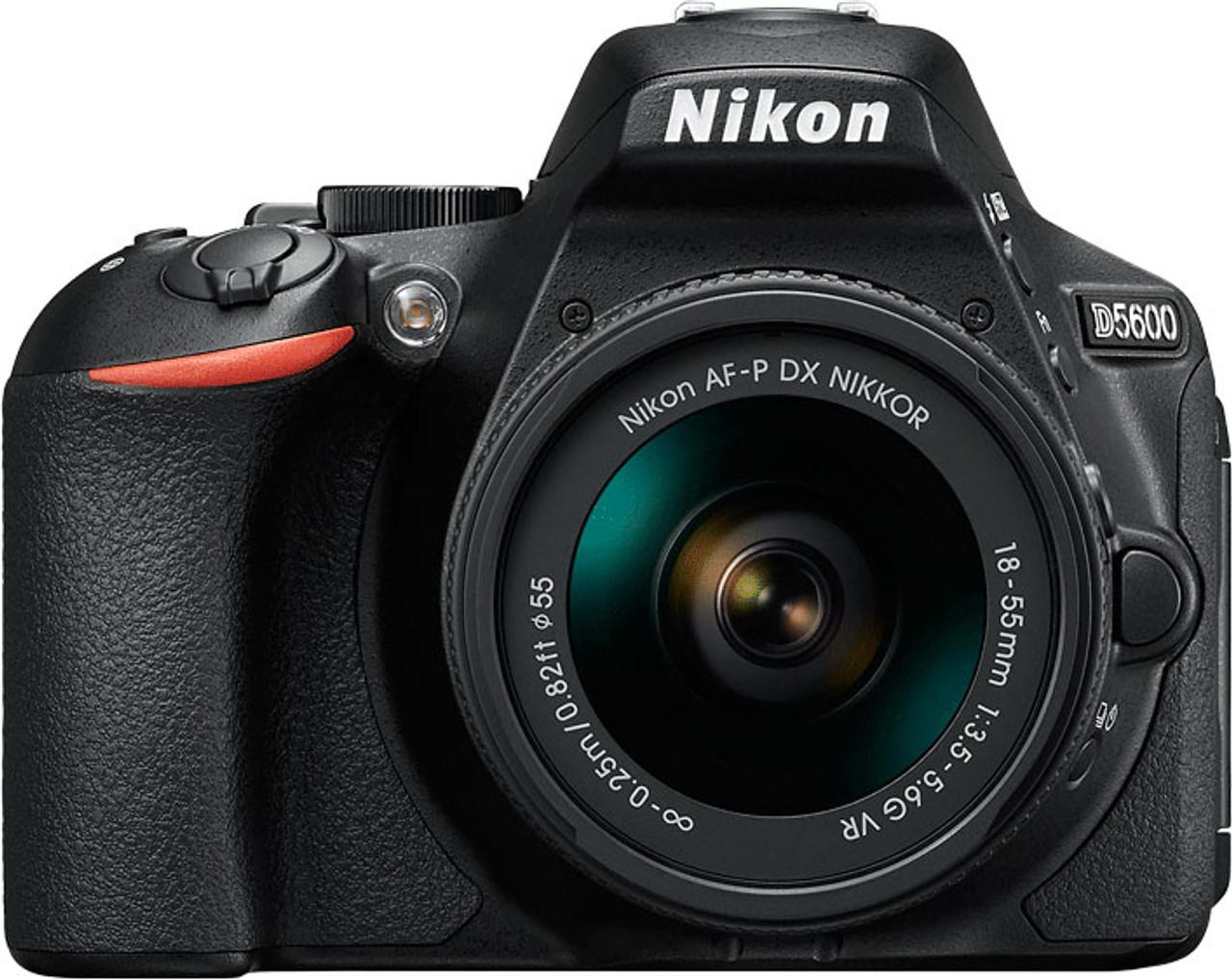 Nikon D5600 Digital SLR Camera with AF-P 18-55mm VR Lens
