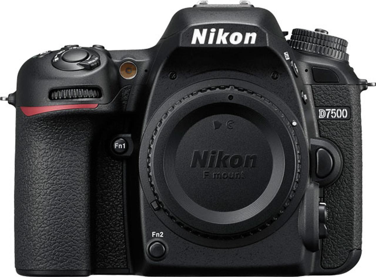 Nikon D7500 DSLR Camera - Body Only - Black