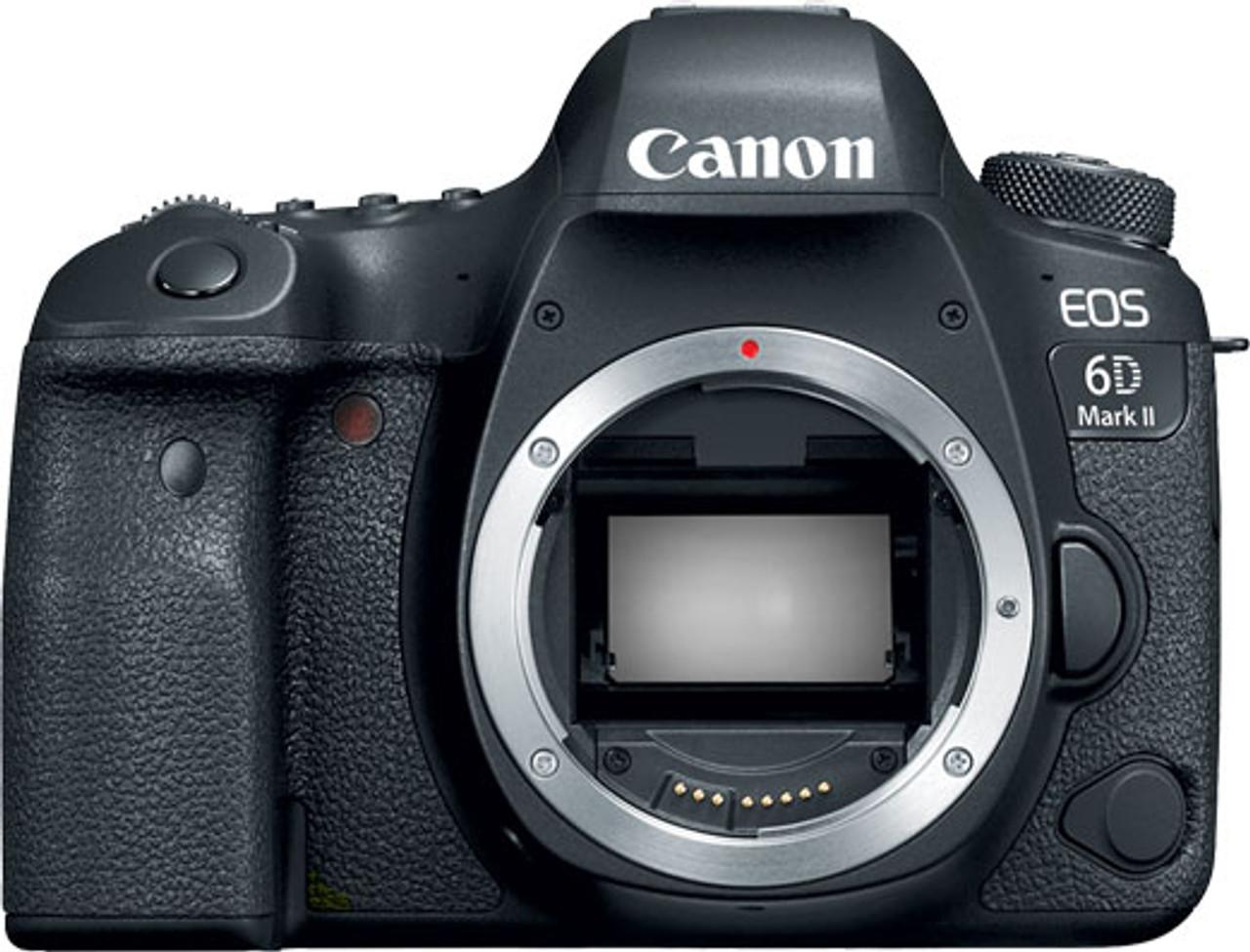 Canon EOS 6D Mark II Digital SLR Camera - Body Only - Black
