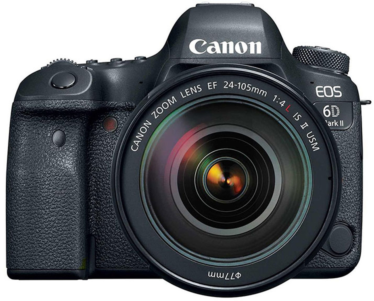 Canon EOS 6D Mark II Digital SLR Camera with EF 24-105mm F4L IS II USM Lens