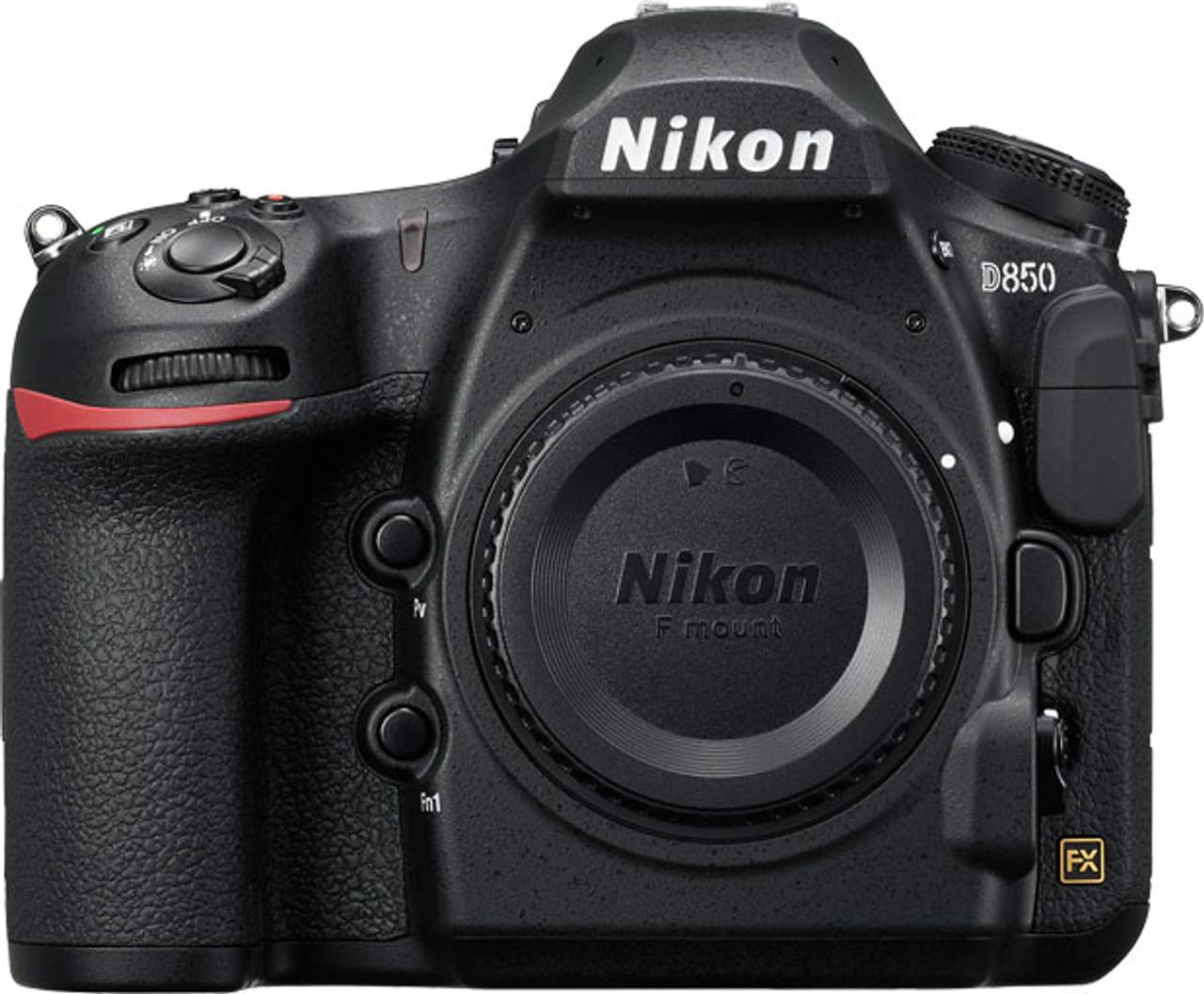 Nikon D850 DSLR Camera - Body Only - Black