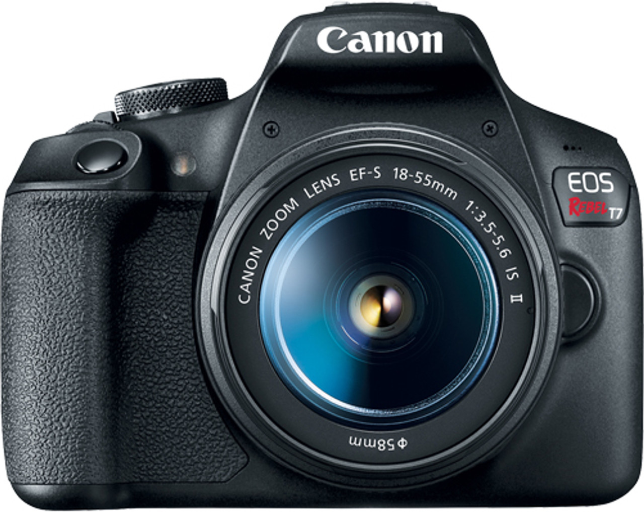 Canon EOS Rebel T7 Digital SLR Camera with EF-S 18-55mm F3.5-5.6 IS II