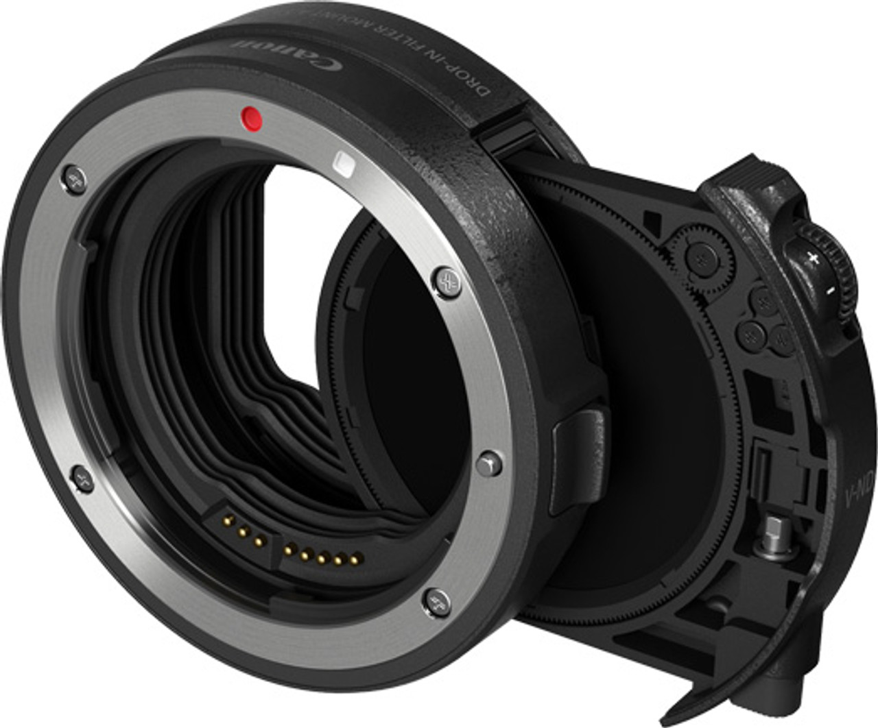 Canon Drop-in Filter Mount Adapter EF-EOS R with Drop-in Variable ND Filter
