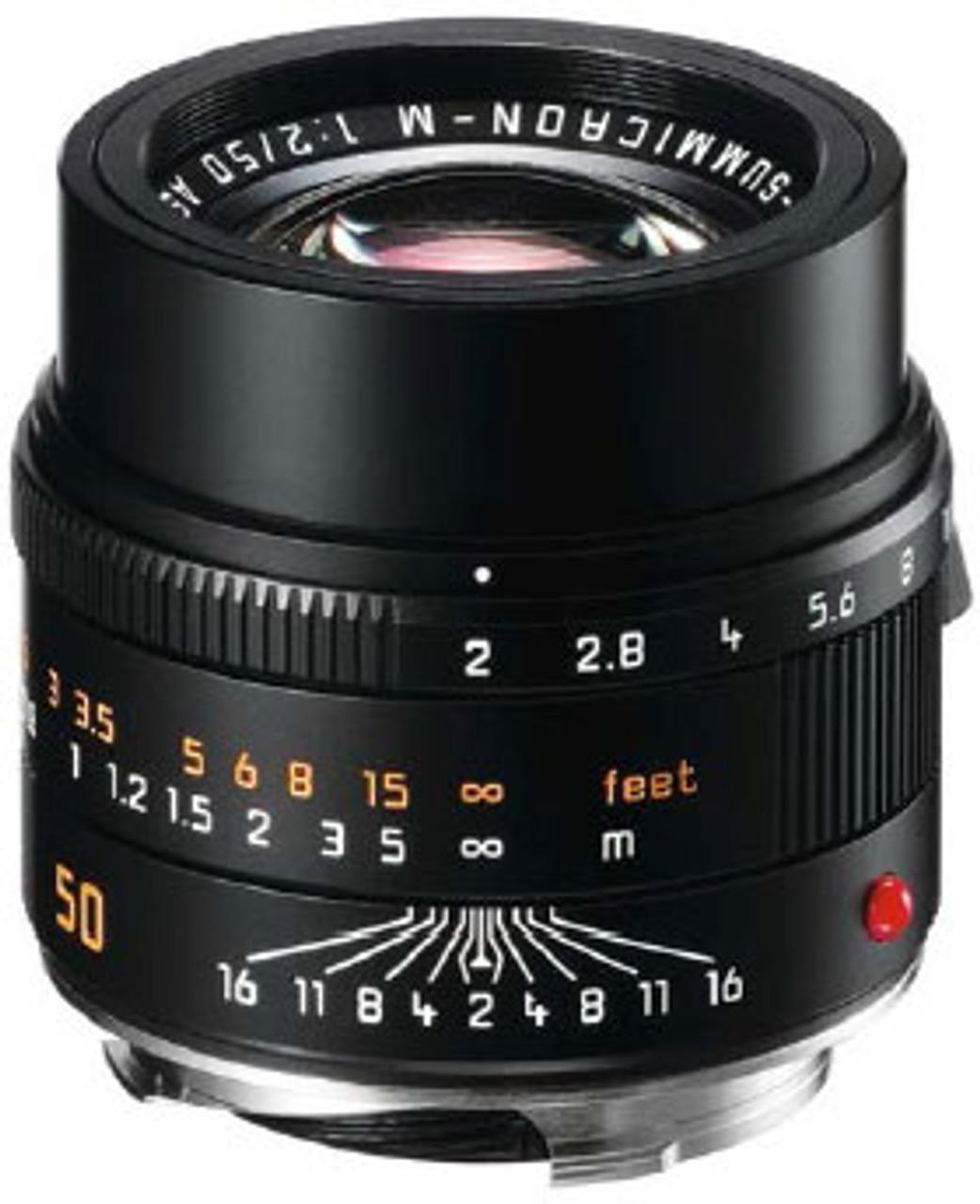 Leica APO-Summicron-M 50mm f/2 ASPH. Lens - Black