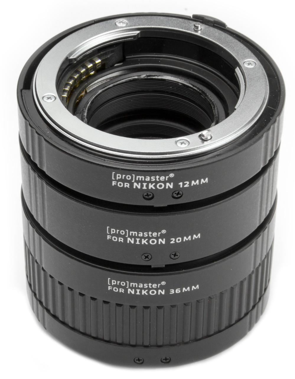 ProMaster Automatic Extension Tube Set - for Nikon #5440