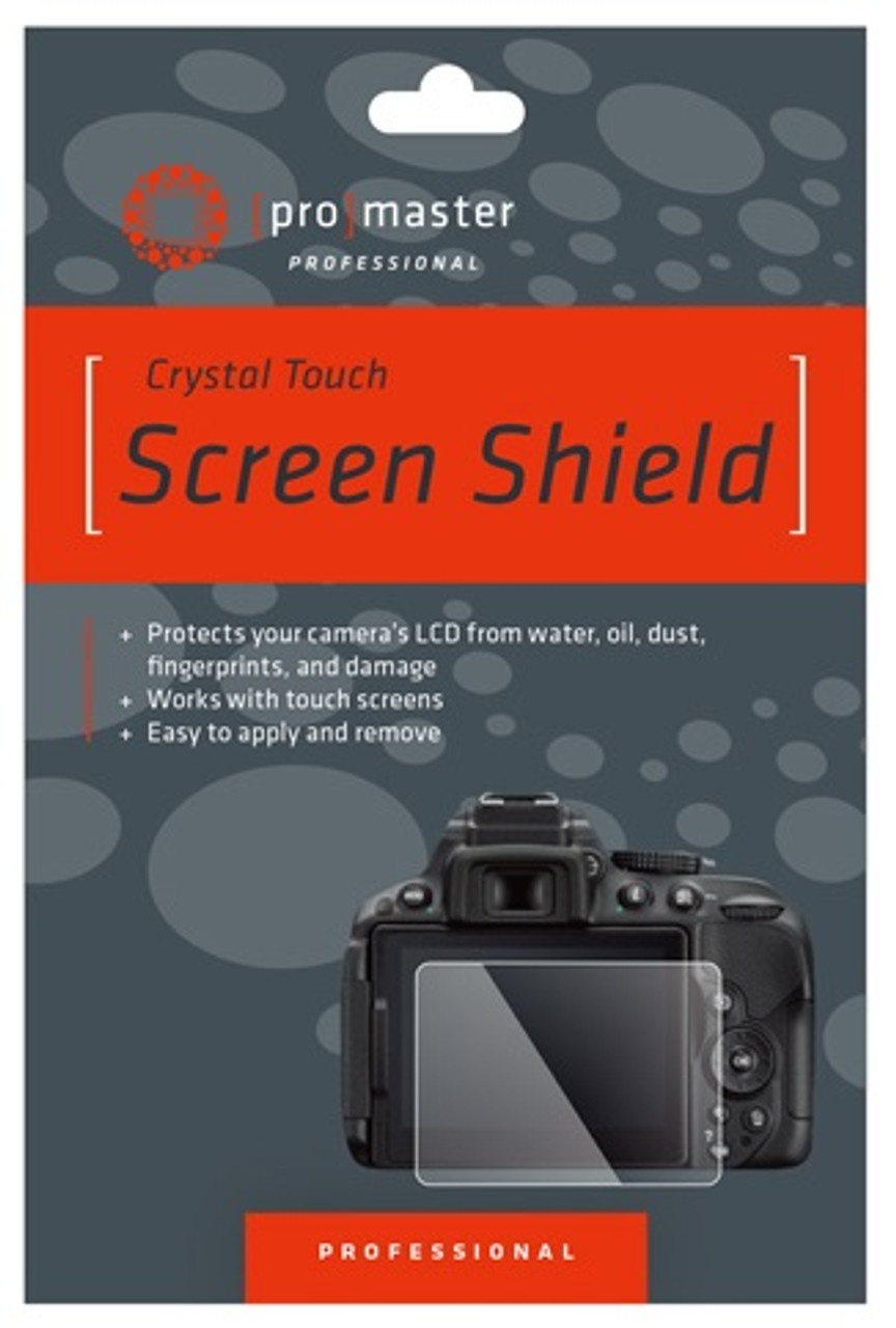 ProMaster Crystal Touch Screen Shield - Nikon D500 #8244