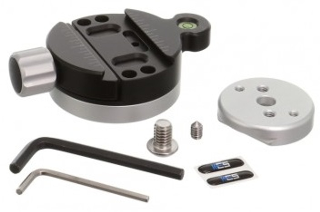 Kirk Enterprises Tripod Head Quick Disconnect System with Small Plate