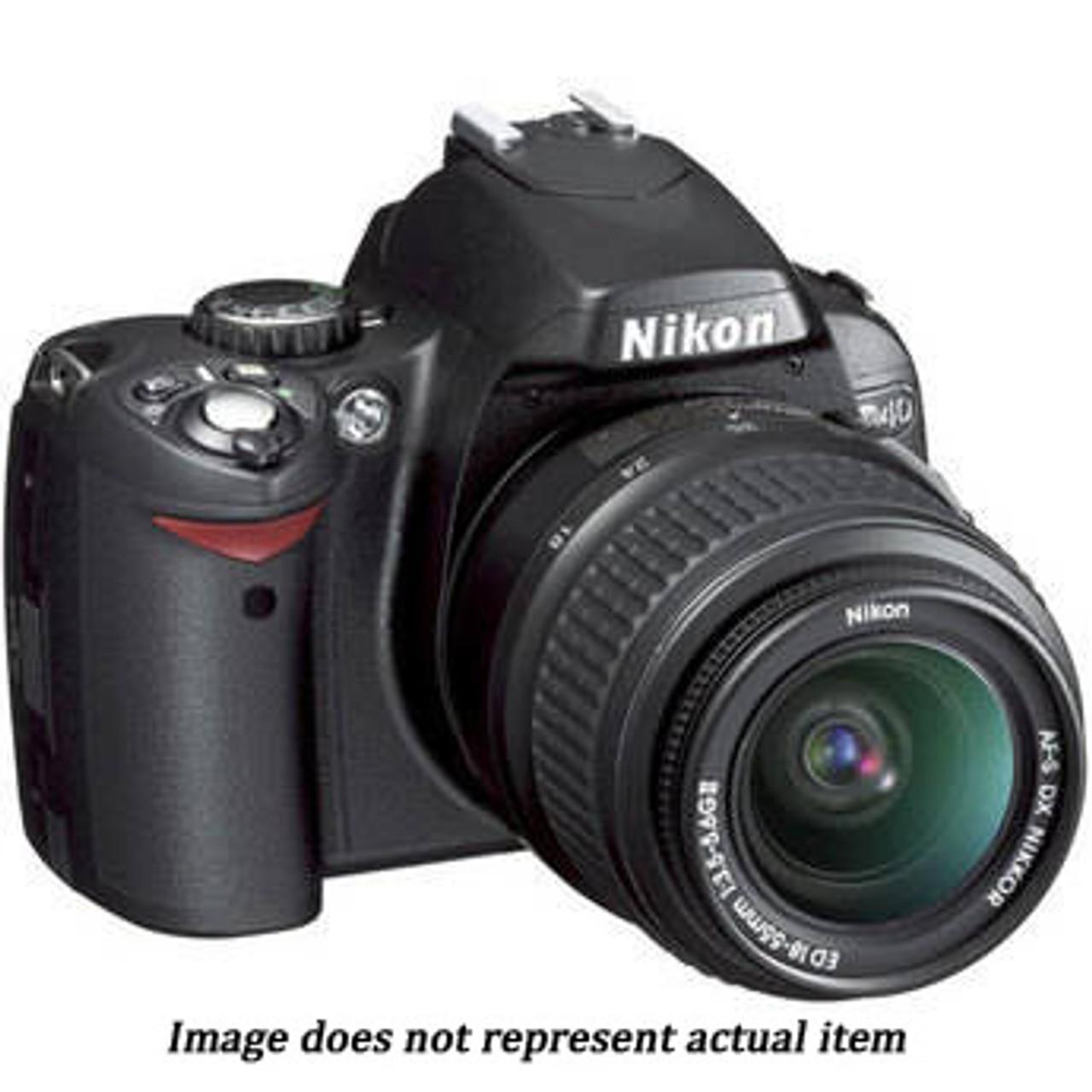 Nikon D40 Kit w/18-55mm f/3.5-5.6G II (USED) - S/N 3677958