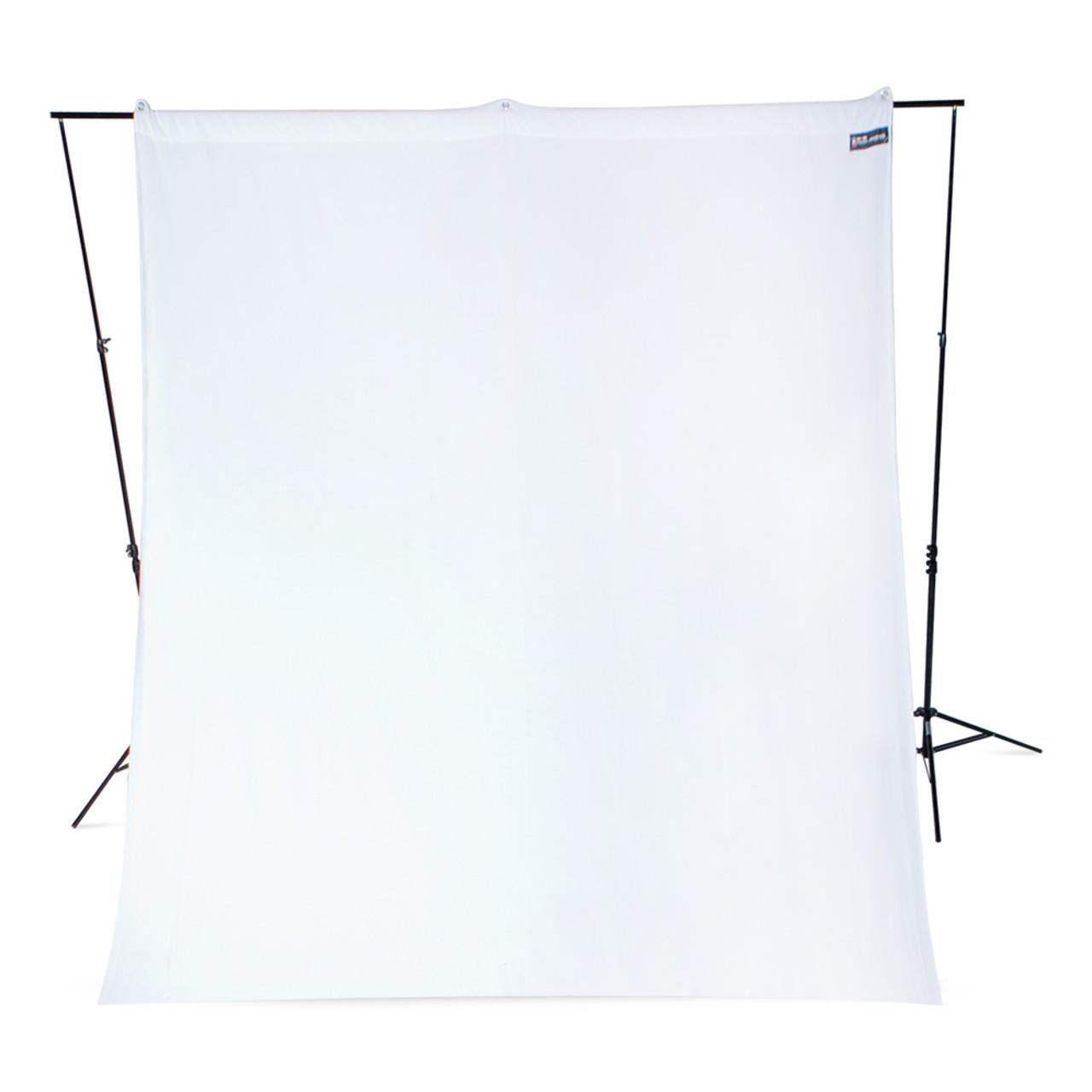 Westcott 9' x 10' White Wrinkle-Resistant Backdrop
