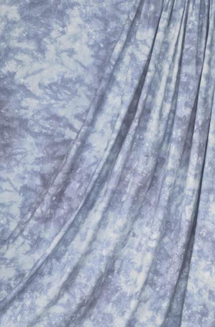 Superior Specialties Inc. 10' x 24' Crush-Dye Muslin Backgrounds Ocean Blue