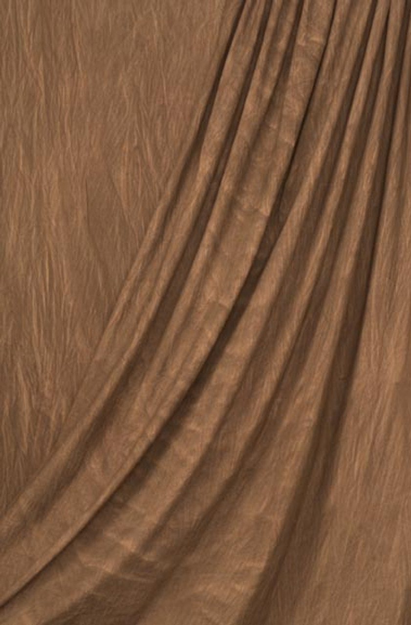 Superior Specialties Inc. 10' x 12' Wash Muslin Backgrounds Brown