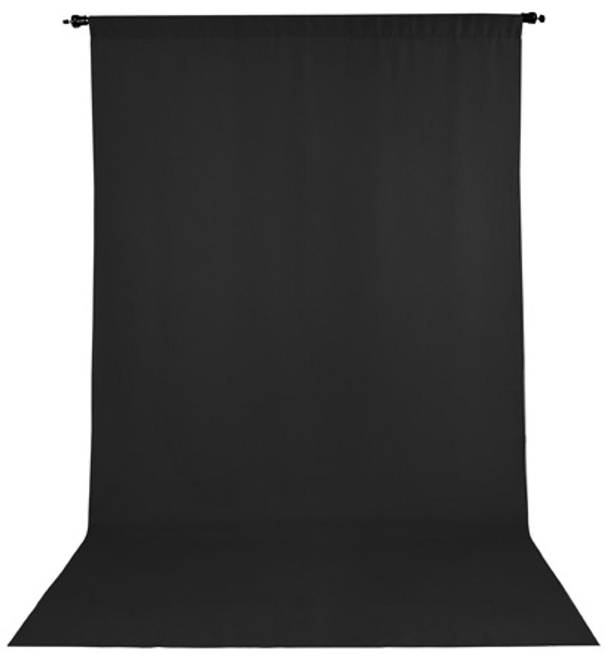 ProMaster Wrinkle Resistant Backdrop 10'x20' - Black #2974