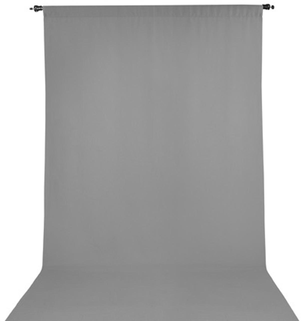 ProMaster Wrinkle Resistant Backdrop 10'x20' - Grey #2988