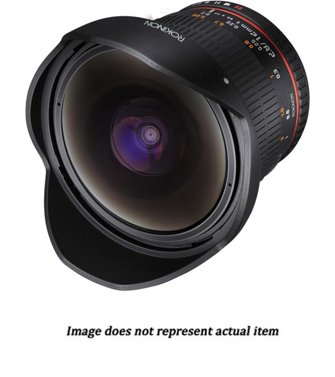Rokinon 12mm f/2.8 ED AS IF NCS UMC Fisheye Lens for Sony Full Frame E-Mount (USED) - S/N E216G3492
