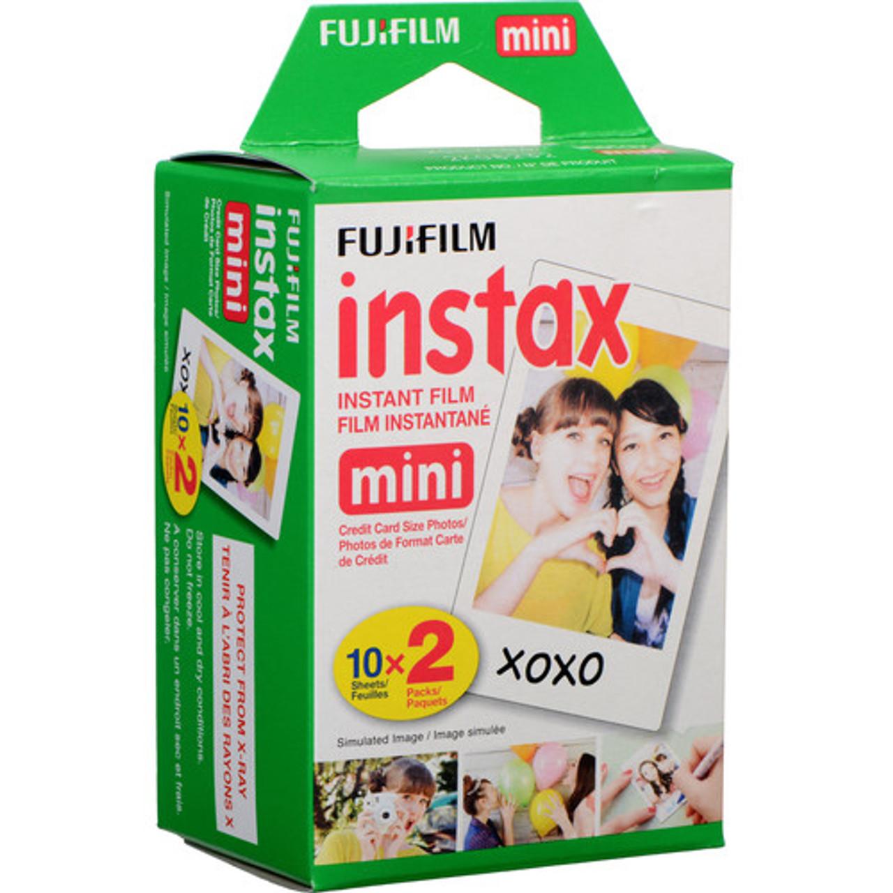 Fujifilm Instax Mini Instant Film - 20 Sheets