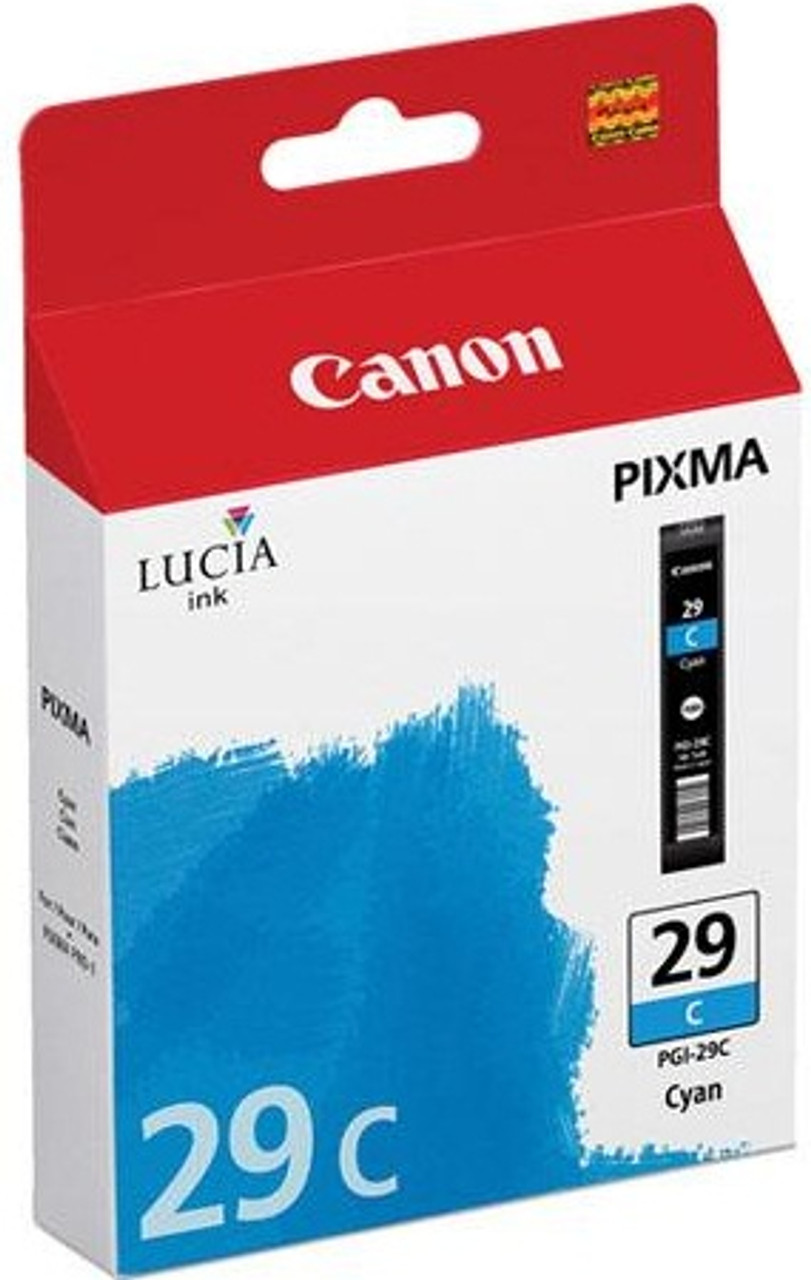 Canon PGI-29C - Cyan Ink Tank #4873B002