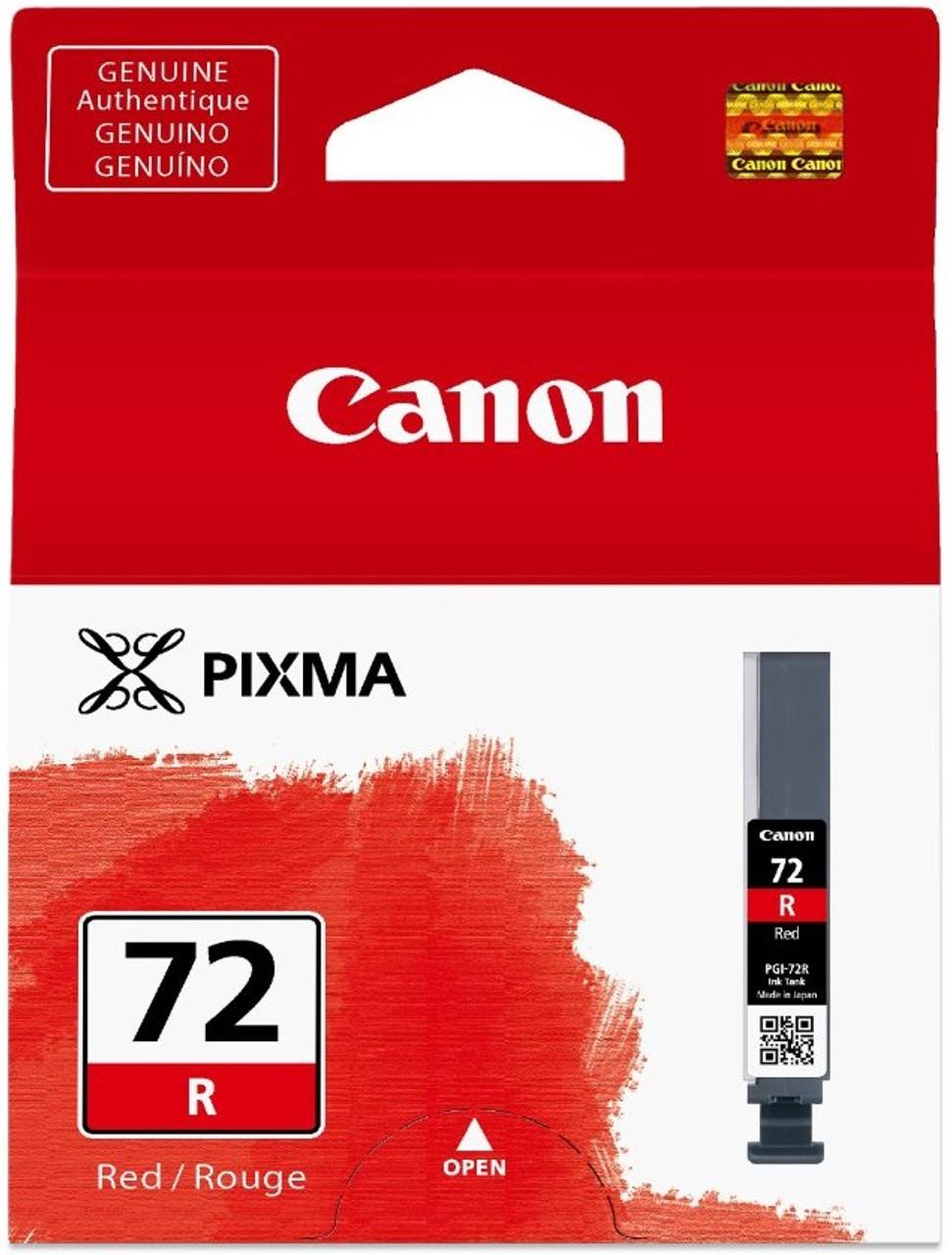 Canon PGI-72R - Red Ink Cartridge