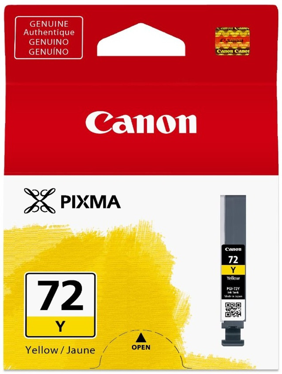 Canon PGI-72Y - Yellow Ink Cartridge