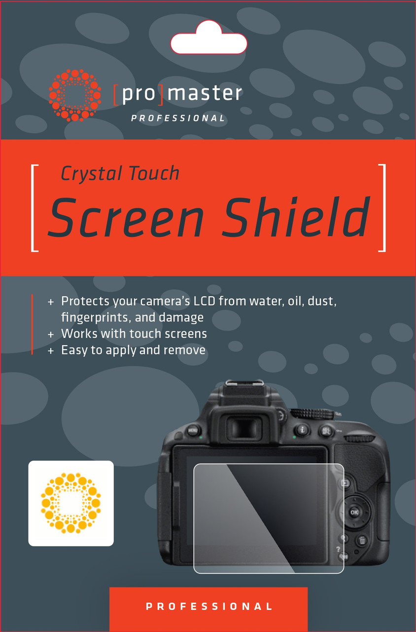 ProMaster Crystal Touch Screen Shield for Nikon D3200 D3300