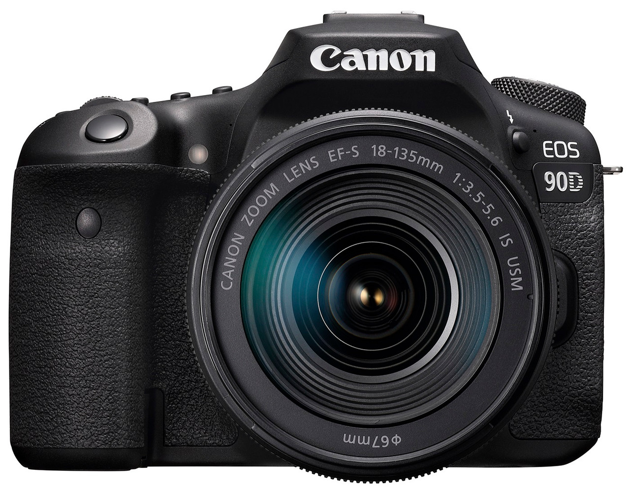 Canon EOS 90D Digital SLR Camera with EF-S 18-135mm IS USM Lens