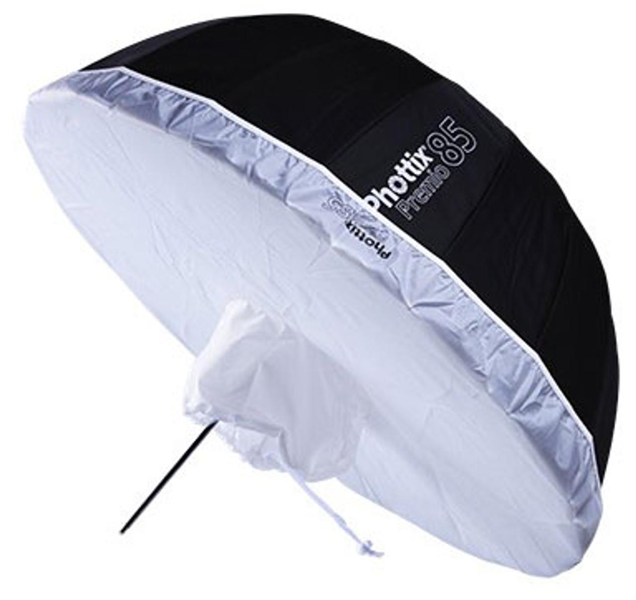"Phottix Premio Reflective Umbrella White Diffuser 33"""