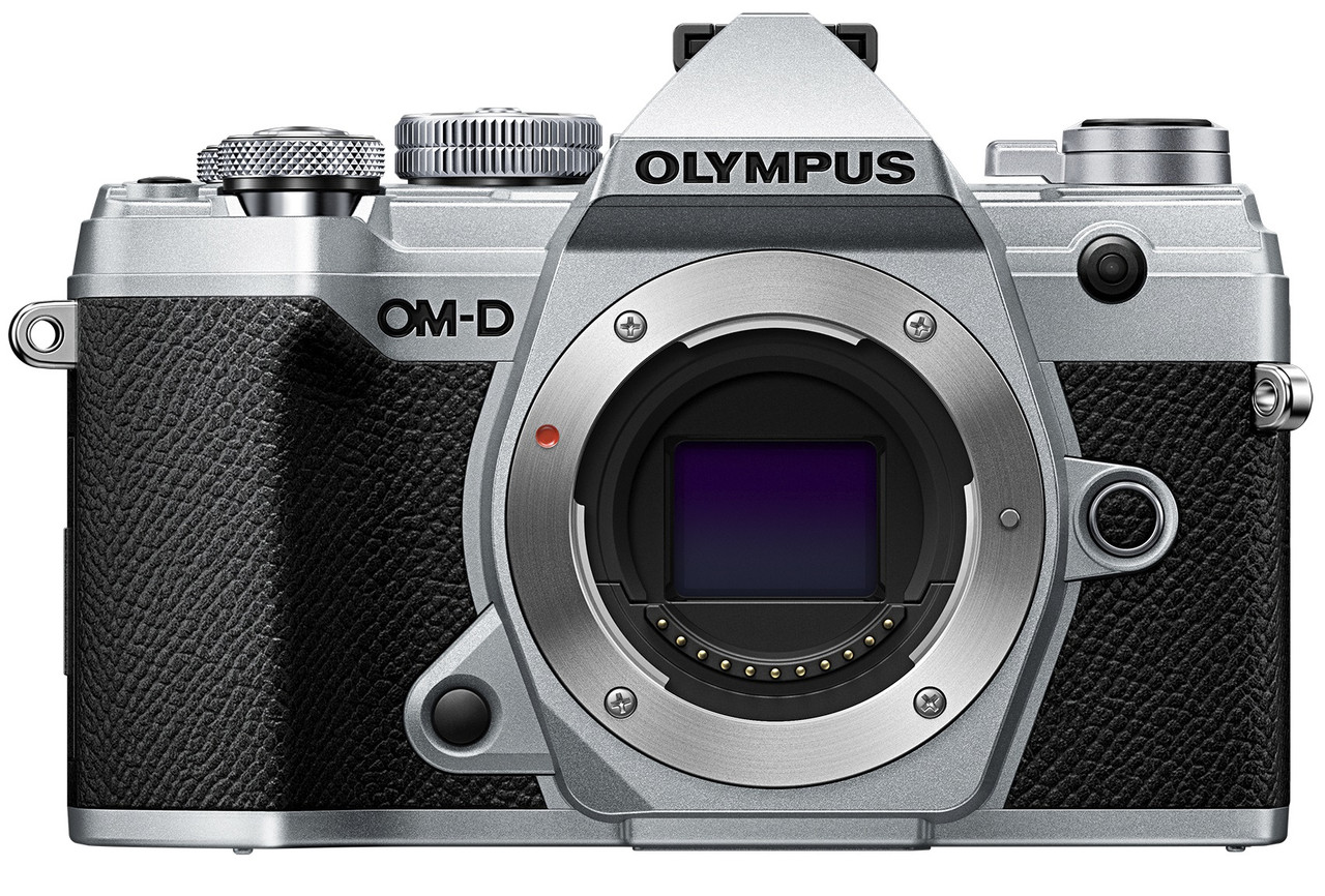 Olympus OM-D E-M5 Mark III Mirrorless Digital Camera (Body Only, Silver)