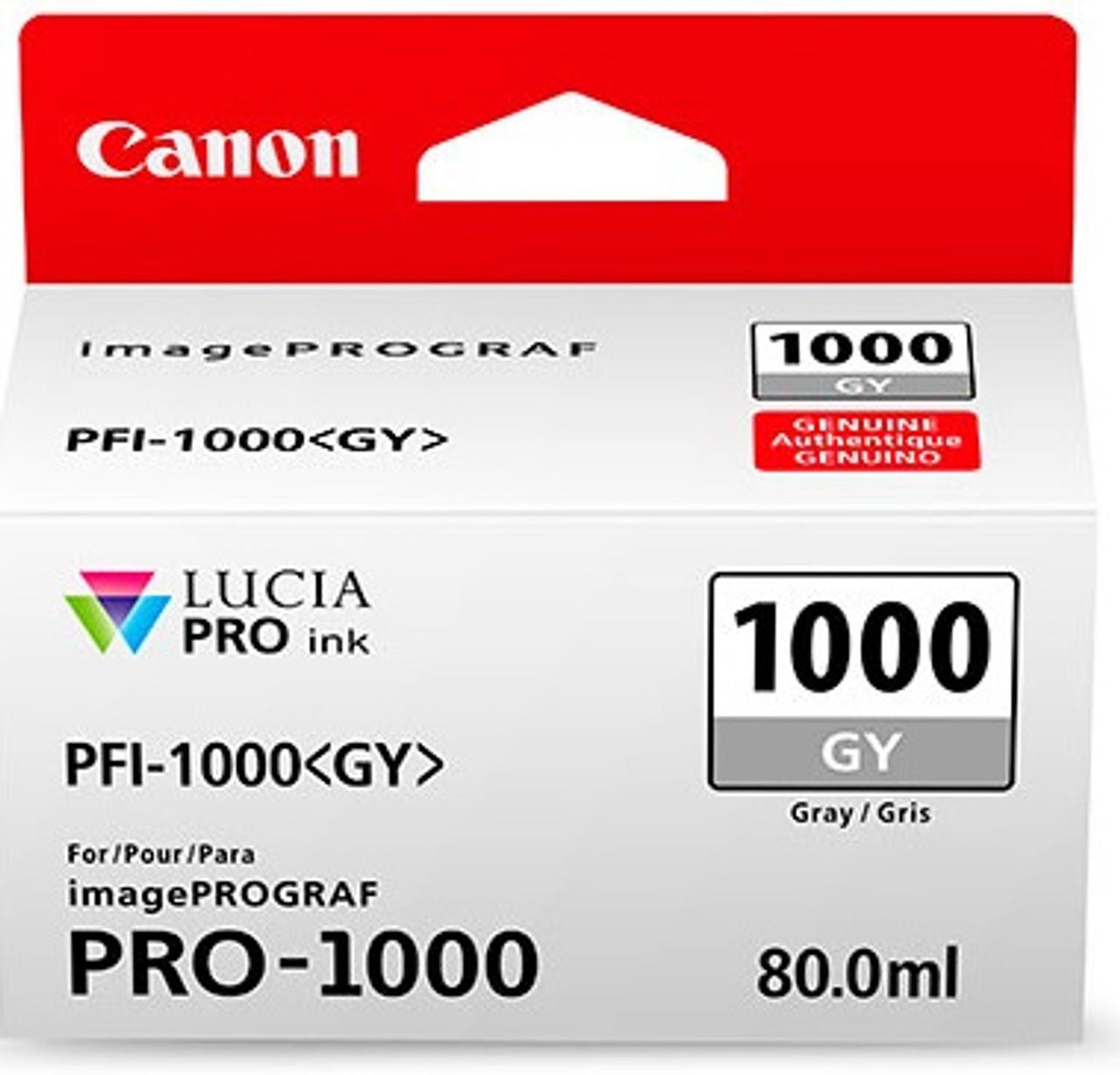 Canon PFI-1000 Gray Ink Tank