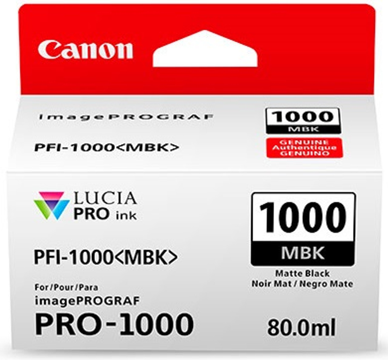 Canon PFI-1000 Matte Black Ink Tank