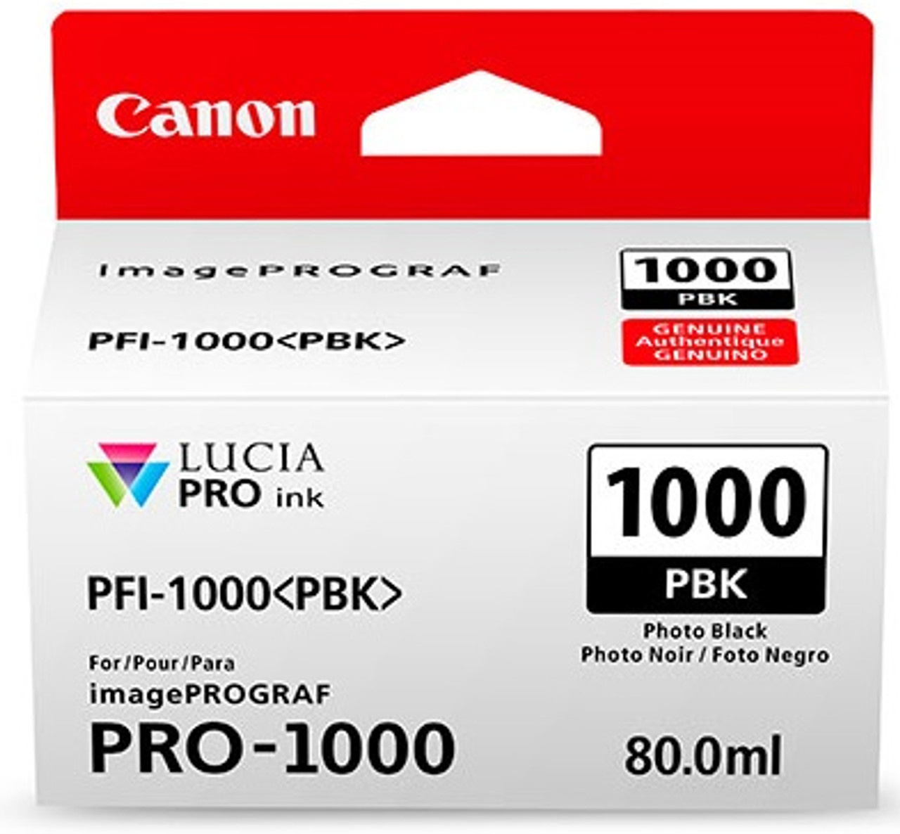 Canon PFI-1000 Photo Black Ink Tank