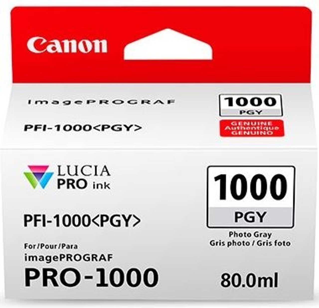 Canon PFI-1000 Photo Gray Ink Tank