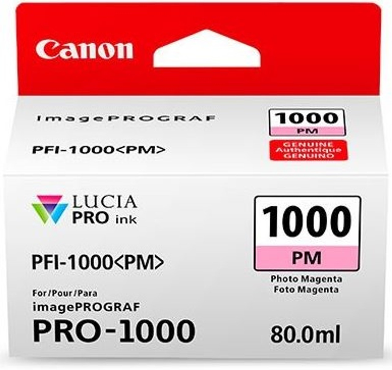 Canon PFI-1000 Photo Magenta Ink Tank