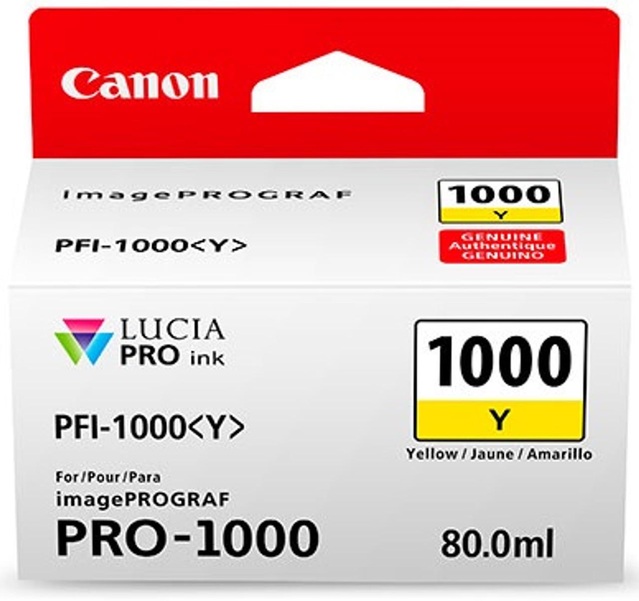 Canon PFI-1000 Yellow Ink Tank