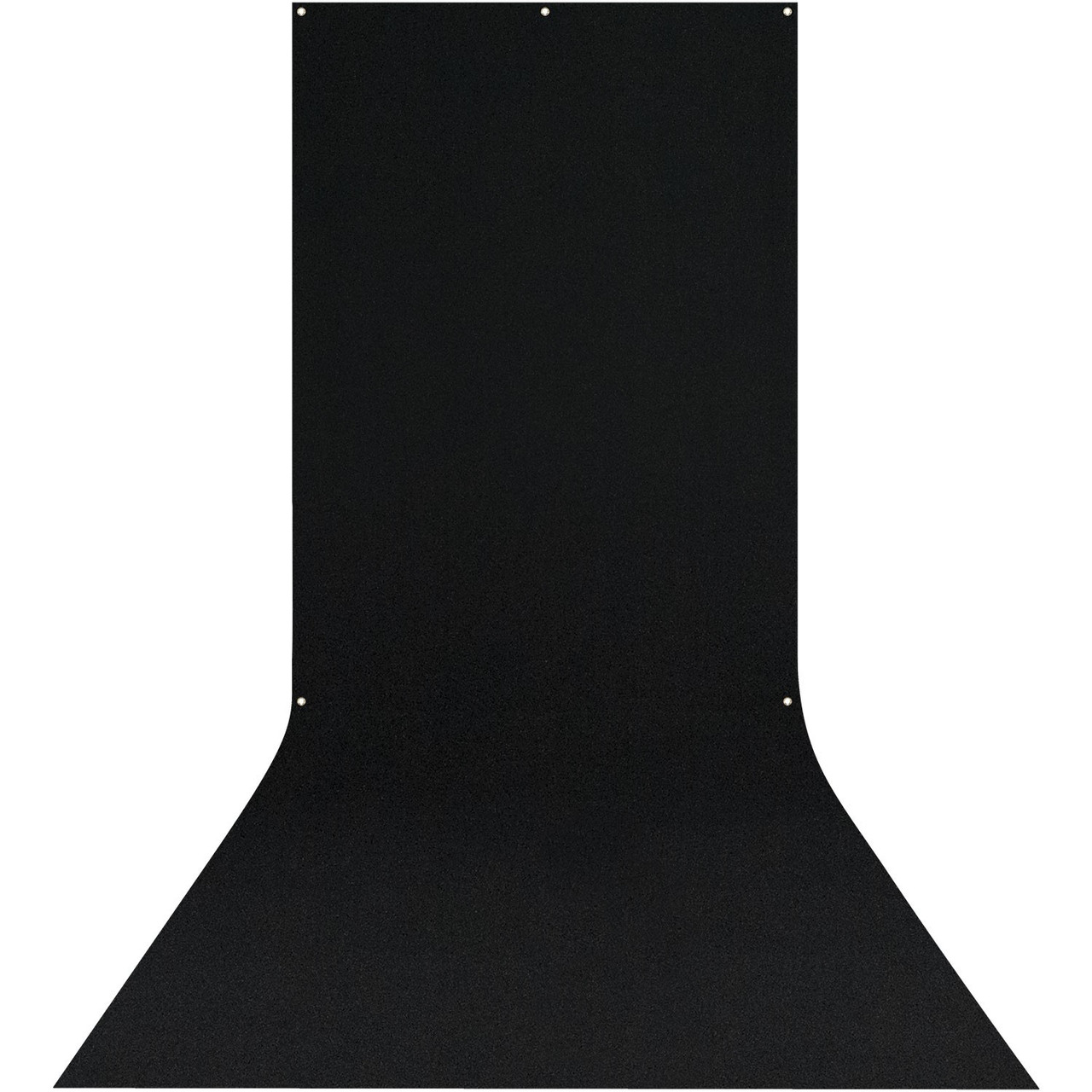 Westcott X-Drop Wrinkle-Resistant Backdrop Sweep - 5' x 12' (Black)