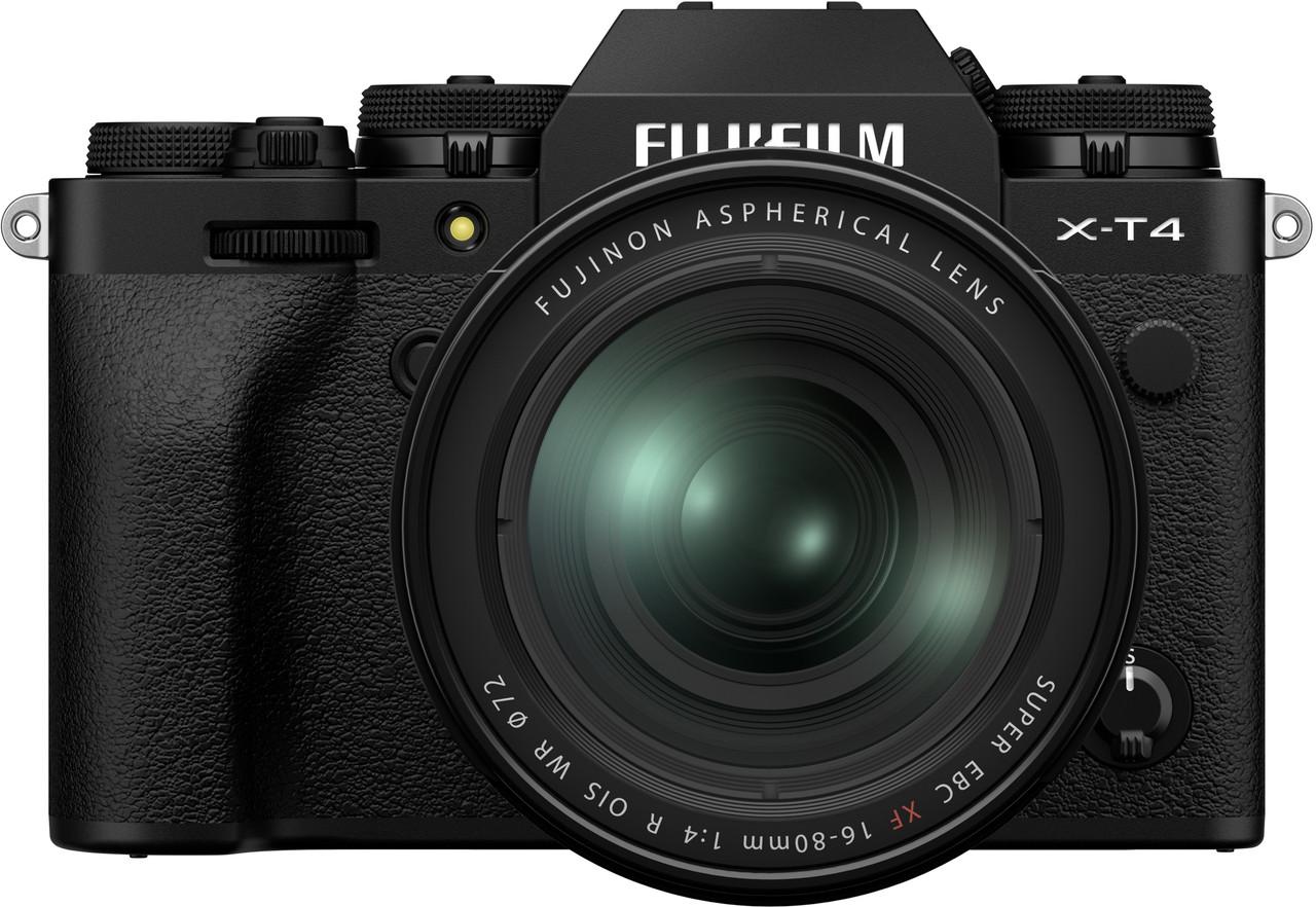 Fujifilm X-T4 Mirrorless Digital Camera with 16-80mm f/4 R OIS WR Lens Kit (Black)