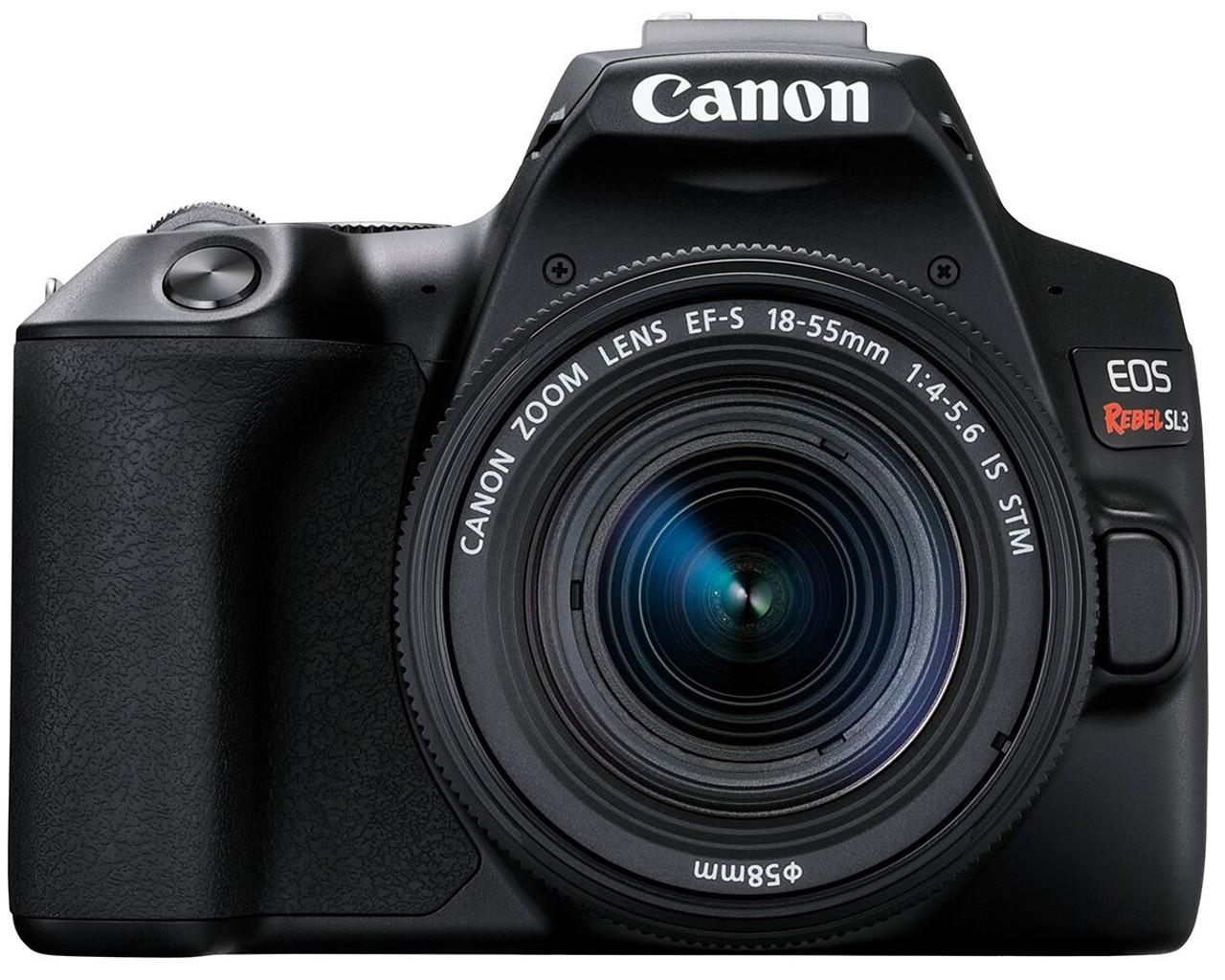 Canon EOS Digital Rebel SL3 DSLR Camera with EF-S18-55mm IS STM Lens