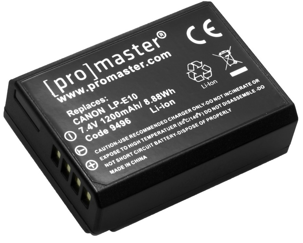 ProMaster LP-E10 Lithium Ion Replacement Battery for Canon