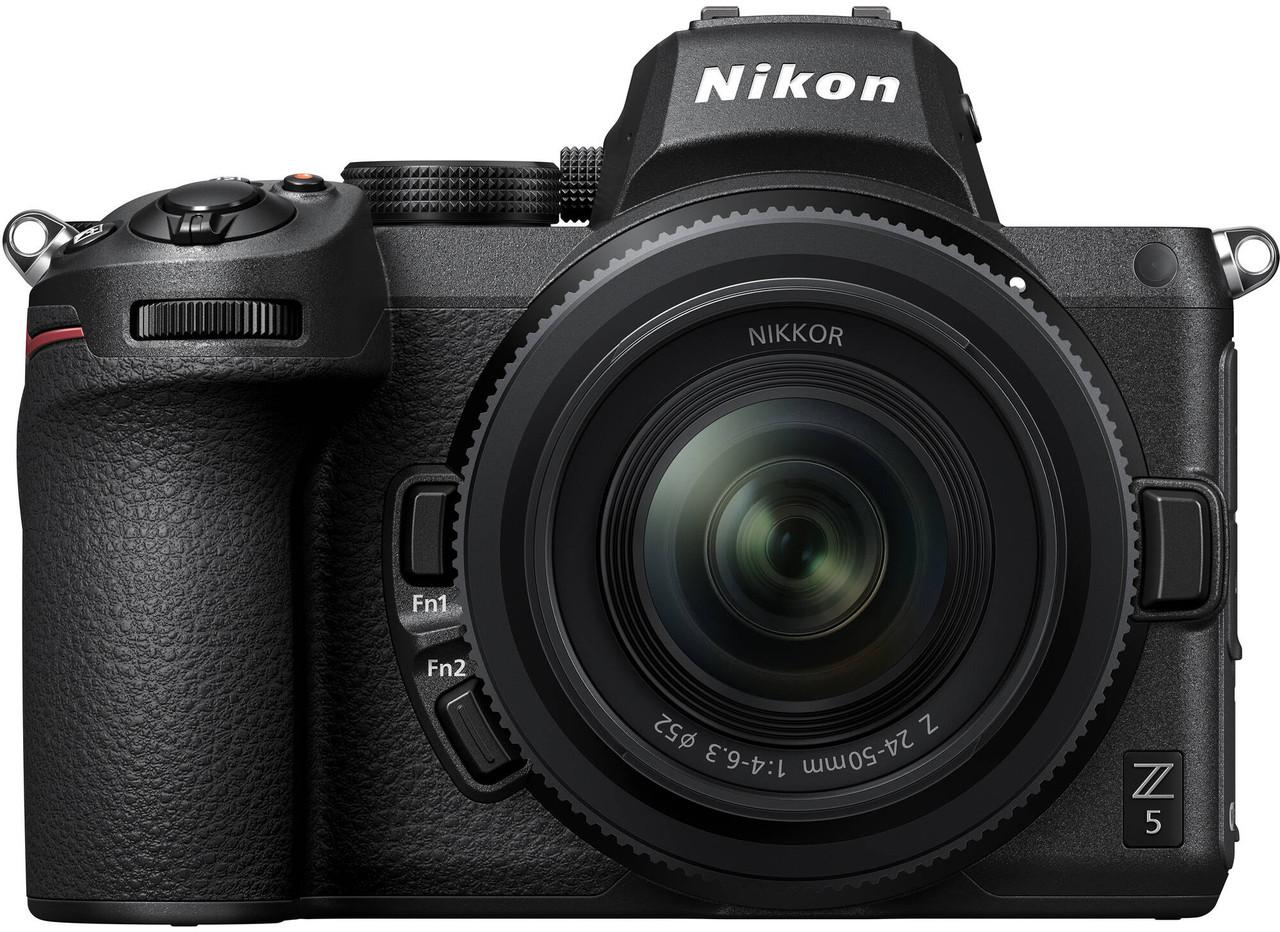 Nikon Z 5 Interchangeable Lens Mirrorless Camera with NIKKOR Z 24-50mm f/4-6.3 Lens