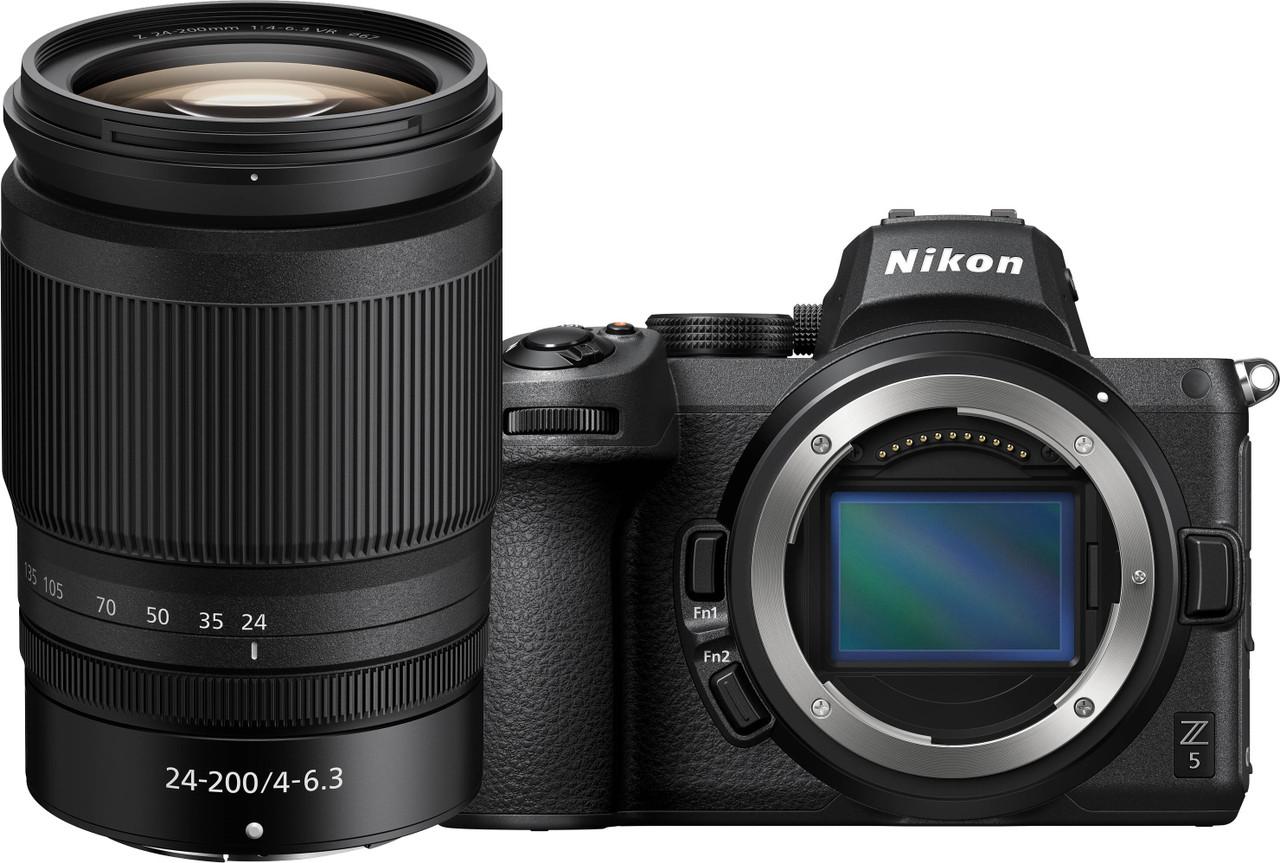 Nikon Z 5 Interchangeable Lens Mirrorless Camera with Nikkor Z 24-200 f/4-6.3 VR Lens