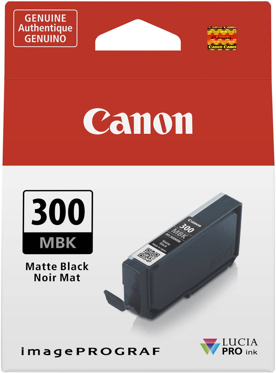 Canon PFI-300 Matte Black Ink Tank