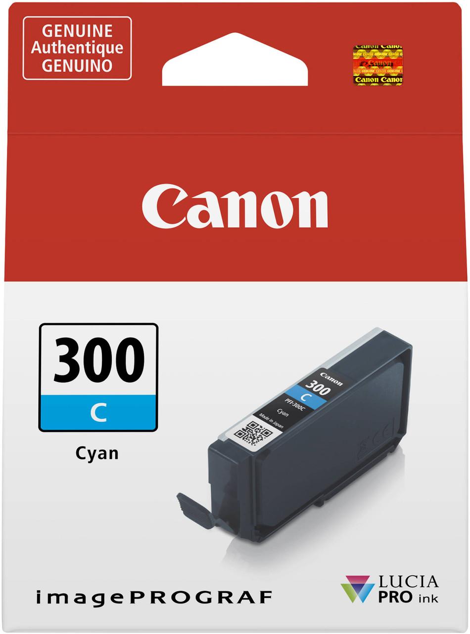 Canon PFI-300 Cyan Ink Tank