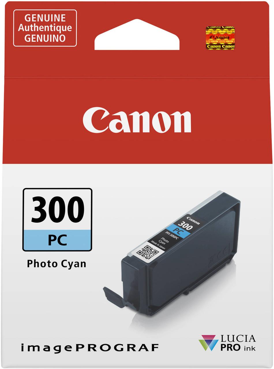 Canon PFI-300 Photo Cyan Ink Tank