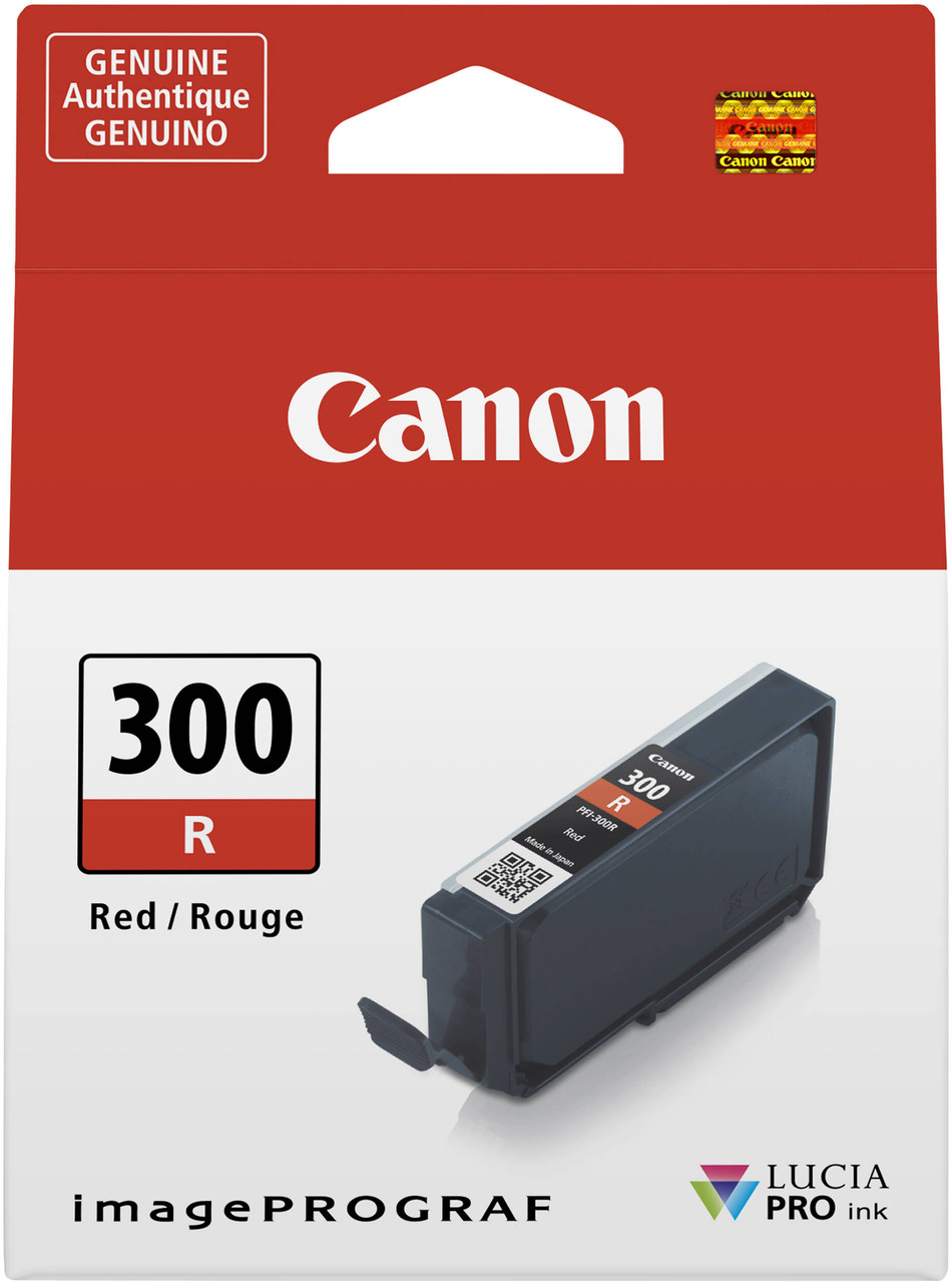 Canon PFI-300 Red Ink Tank